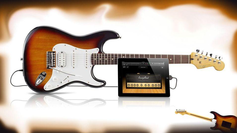 Sjekk denne iPad-gitaren