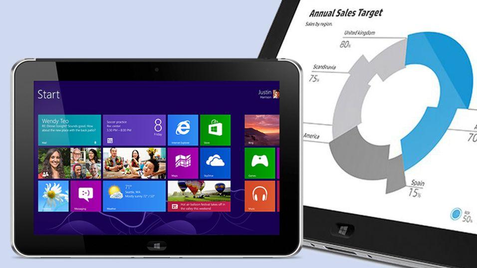 Windows 8-nettbrettet HP ElitePad bruker Intel-prosessor og er primært beregnet på bedriftsmarkedet.
