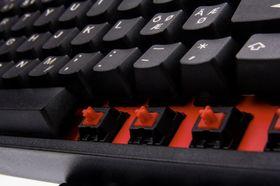Røde brytere er den nye moten blant spilltastaturer.