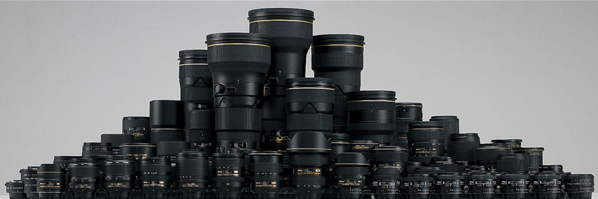 Nikon passerer 75 millioner objektiver