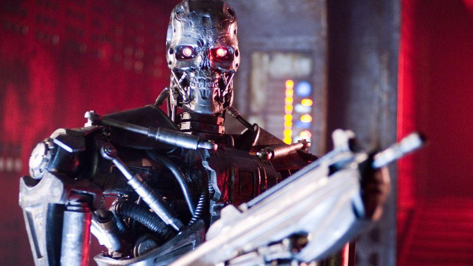 Menneskerettighetsorganisasjon mener at bruken av roboter i krig vil by på store problemer. Her er et bilde fra filmen Terminator Salvation.