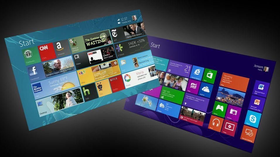 Dette kunne vært Windows 8