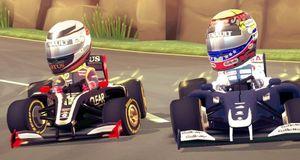 Anmeldelse: F1 Race Stars