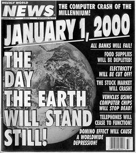 Jorden stoppet likevel ikke opp ved overgangen til år 2000.