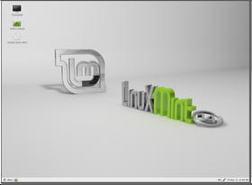 Mate-skallet av Linux Mint.