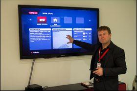 Du kan personliggjøre startskjermen på TV-en så den viser akkurat det du vil.