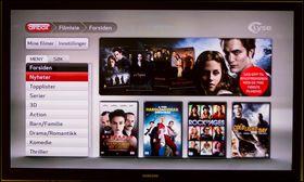 Altibox driver med filmleie, men i motsetning til for eksempel Netflix rullerer de på utvalget hele tiden.