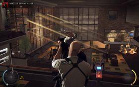 Slikt skjer når Agent 47 lurer i skyggene.