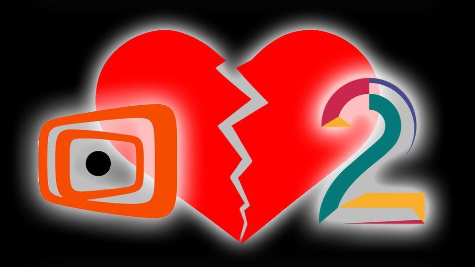 Opptil 500 000 mistet TV 2-kanaler