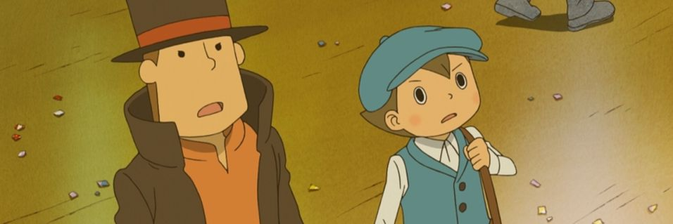 ANMELDELSE: Professor Layton and the Miracle Mask