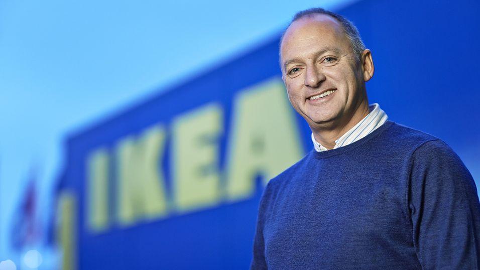 Landssjef i Ikea Norge, Carl Janzen, kan glede seg over økt tilbud og sannsynligvis større etterspørsel.