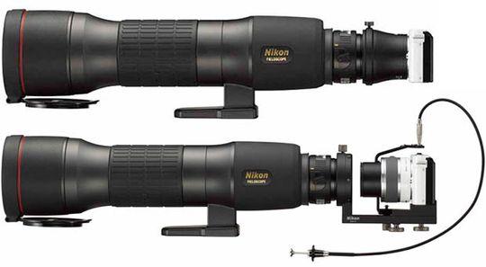 Den nye braketten og den nye adapteren gjør at man kan koble til Nikons speilløse modeller.