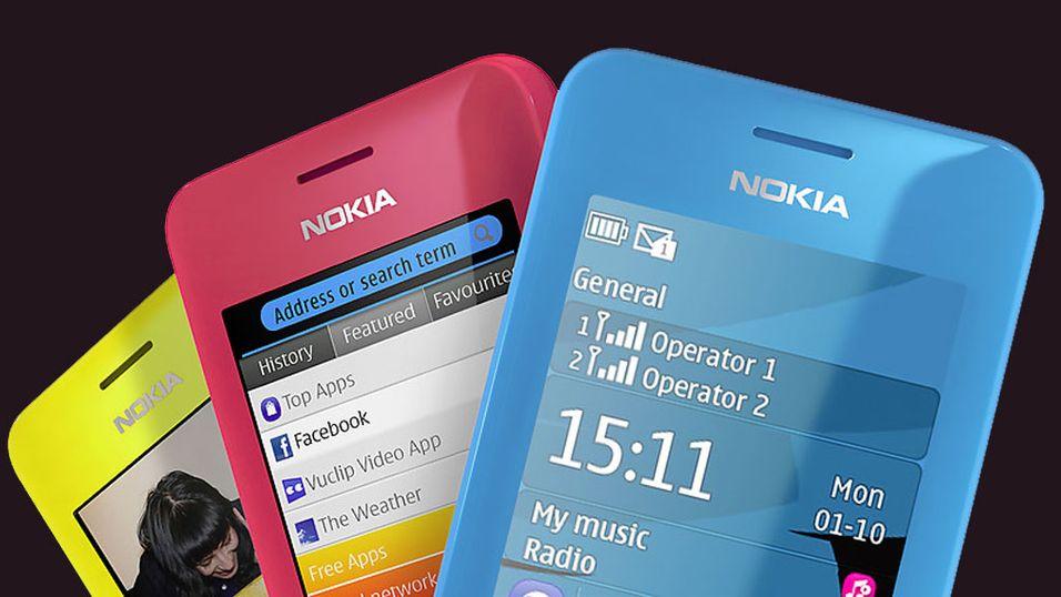 Ensfarget billigmobil fra Nokia