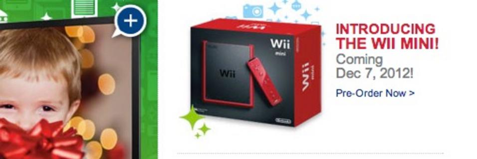 Nintendo slipper Wii Mini