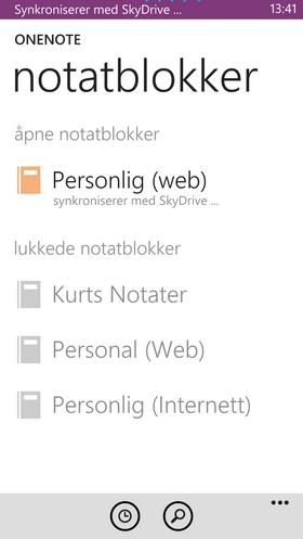 OneNote er en utmerket notatblokk-app som synkroniserer notatene dine mellom PC og mobil.