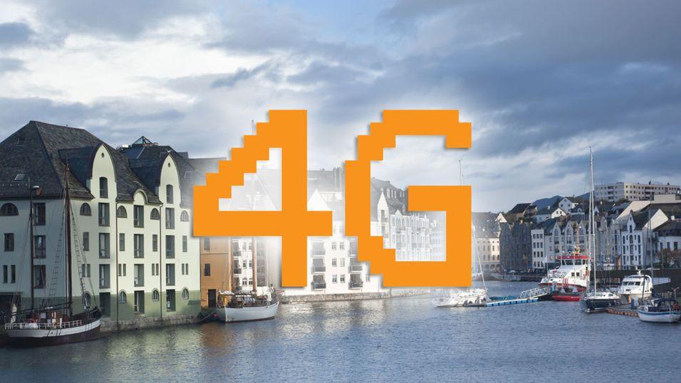 NetCom gir Sunnmøre 4G-dekning