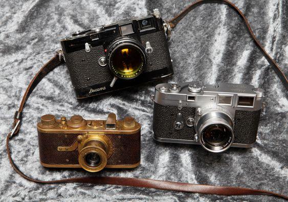 Kremen av kameraer for samlere verden over.