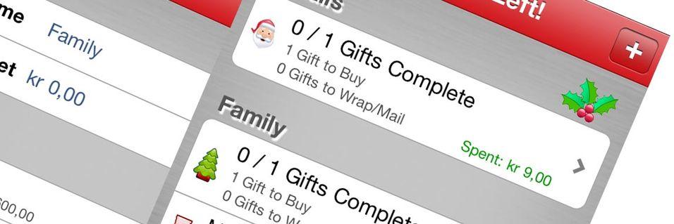 TEST: Better Christmas List (iOS)