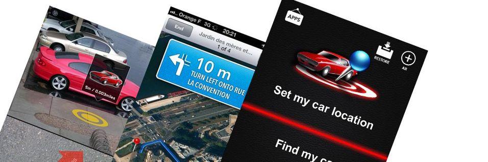 TEST: Find my car (iOS)