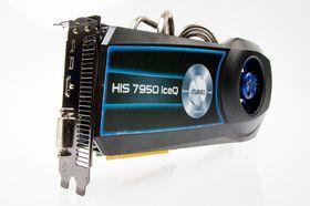 HIS HD 7950 IceQ Boost Clock er ganske omfangsrikt.