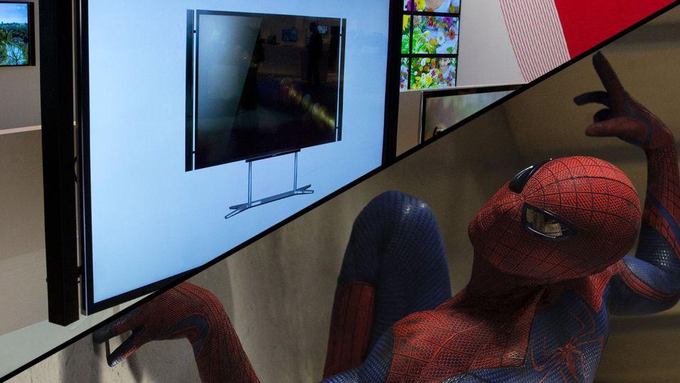The Amazing Spider-Man er blant filmene som blir med på kjøpet av denne 4K-TV-en i USA.