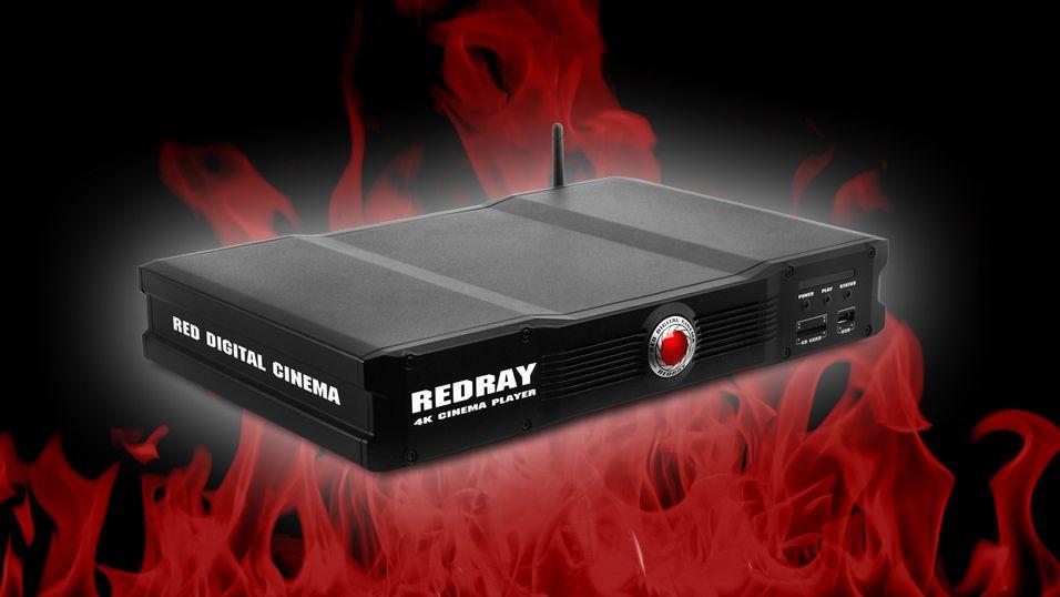 Redray kan spille av 4K-videoer, og kan i tillegg koble seg til den nye distribusjonsplattformen Odemax via nettskyen.