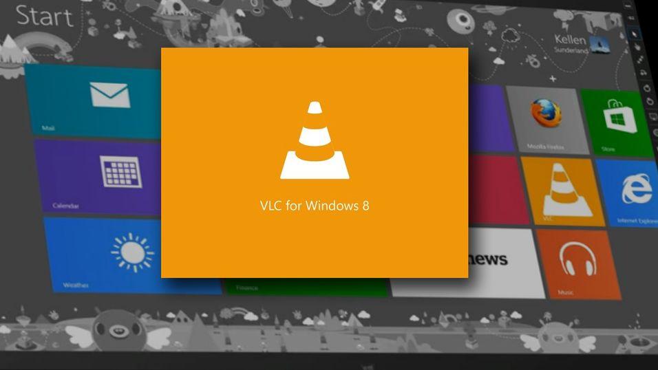 Folkefavoritten VLC er på vei til Windows 8