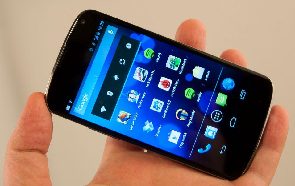 Første Nexus 4-forsyning til Norge neste uke