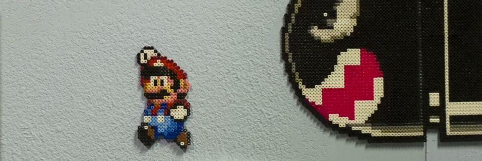 Slik har du aldri sett Mario før