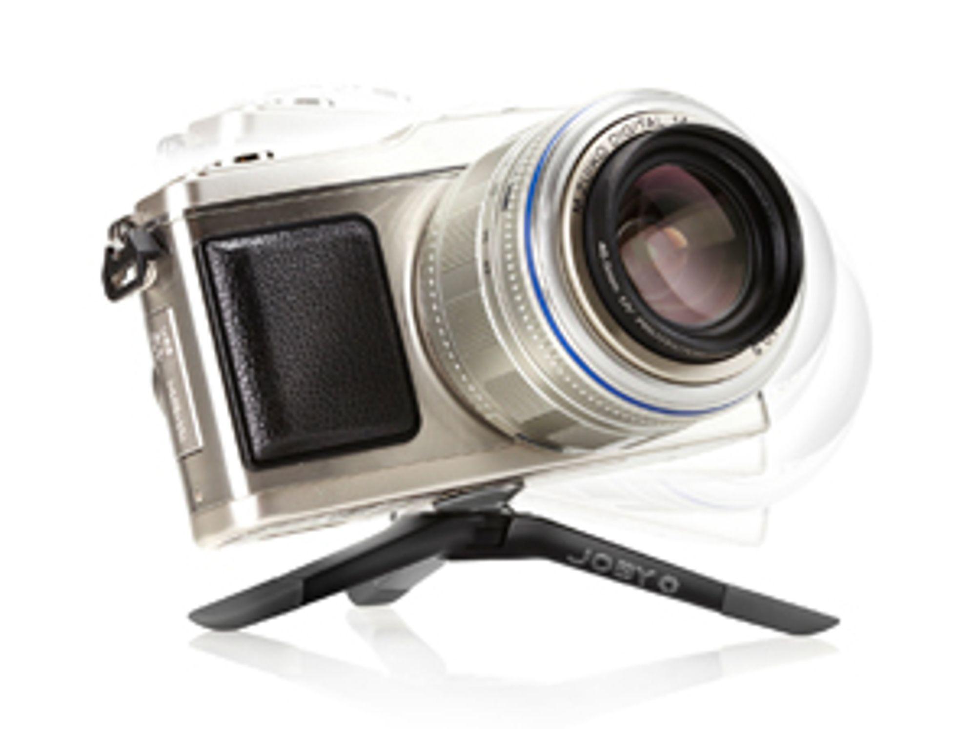 Stativet Gorillapod Micro 800 er lite nok til å ligge permanent i kamerabagen. (Nei, kameraet følger ikke med.).