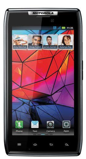 Motorola Razr bruker systembrikken TI OMAP 4430.