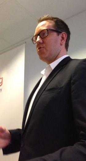 Administrerende direktør Erland Bakke i Easybring.