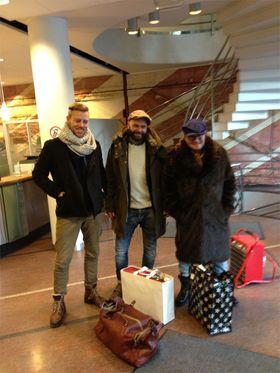 Homsepatruljen leverte gaver til Fretex etter lanseringen.