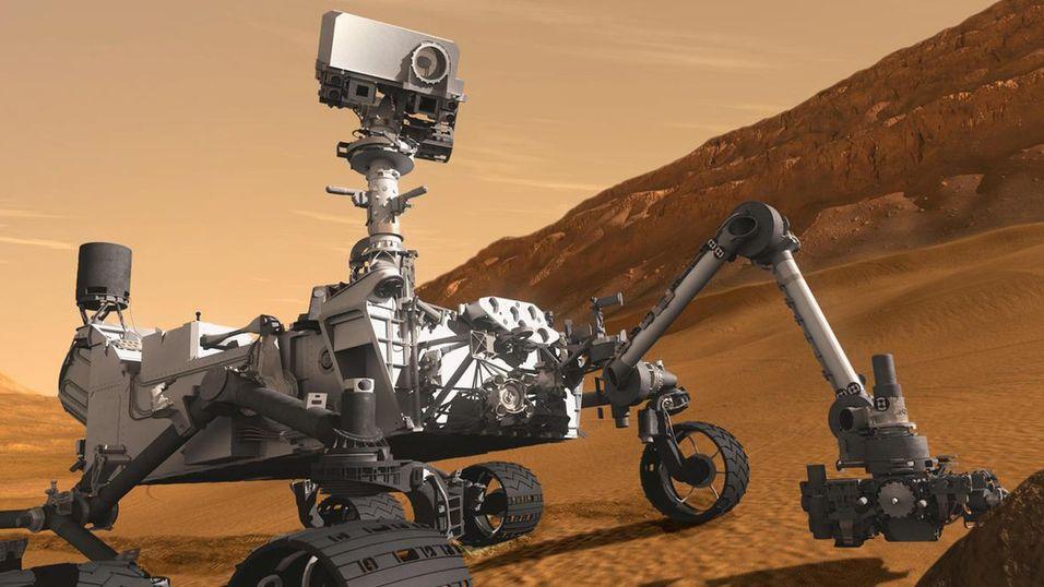 Den nye roveren vil ligne på dagens Curiosity-modell.