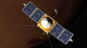 Orbitalfartøyet Mars Atmosphere and Volatile EvolutioN (MAVEN).