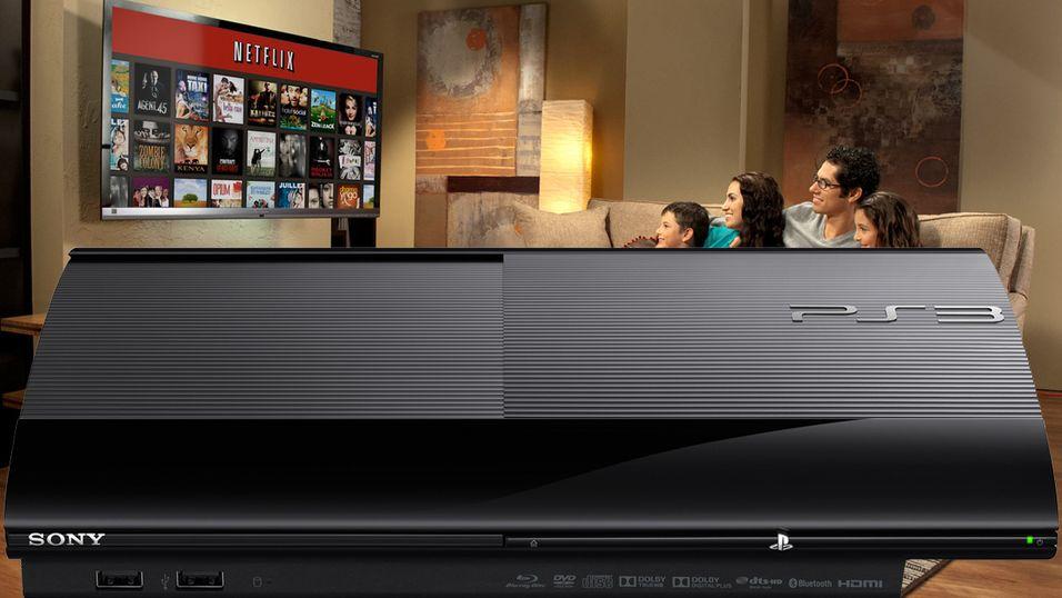 """Playstation 3 er nå den mest populære """"stue-plattformen"""" for Netflix."""