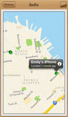 Find My iPhone.
