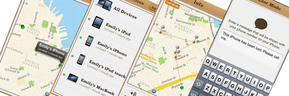 TEST: Find My iPhone (iOS)