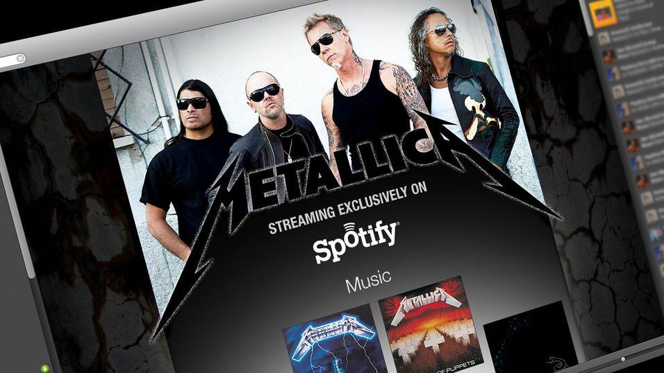Metallica inntar endelig Spotify - sammen med en rekke andre nye funksjoner.