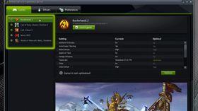 På venstresiden får du opp en liste over alle spillene du har på PC-en din.
