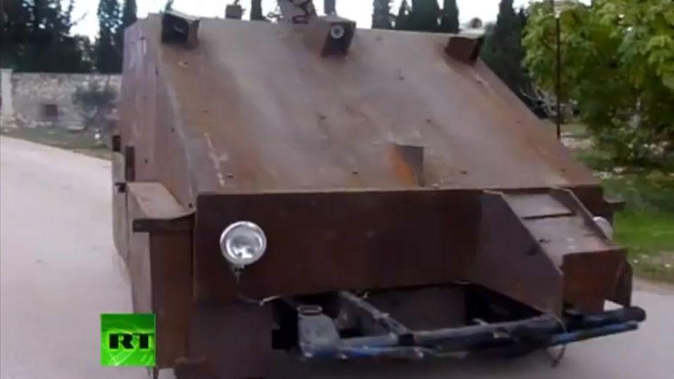 Sham II er en tanks du neppe har sett maken til tidligere.