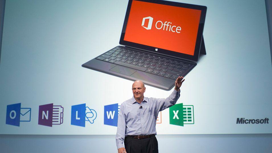 Microsoft nekter ikke lenger for iPad-Office