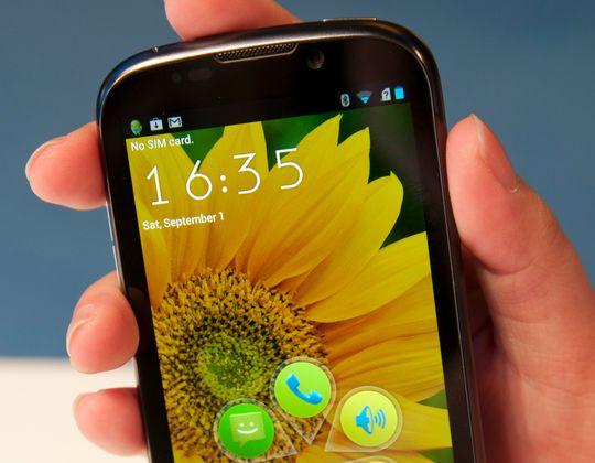 ZTE Grand X IN har en 4,3 tommer stor skjerm, og innmat fra Intel.