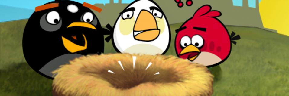 Angry Birds blir film