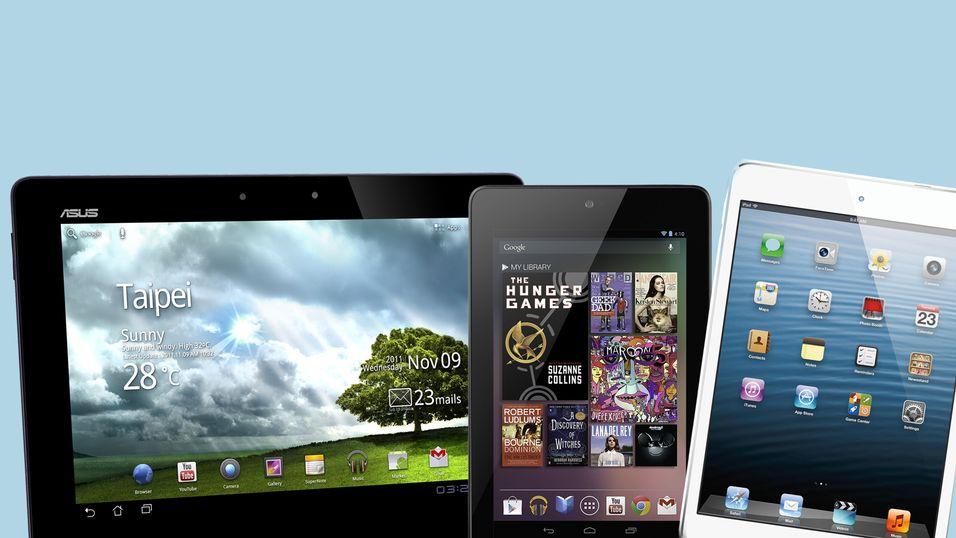 Nå er Android størst på brett