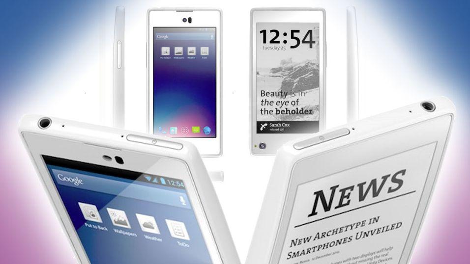 YotaPhone har skjerm foran og bak