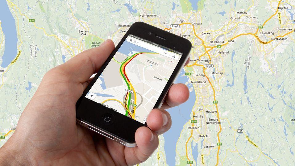Ny tjeneste i Google Maps