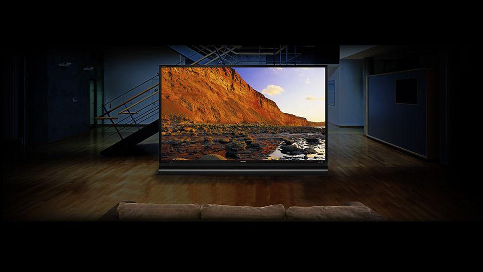 Sharp LC-60HQ10 skal være verdens første 4K-TV med THX-sertifisering.