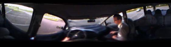 Slik ser FlyViz ut fra sjåførsetet.