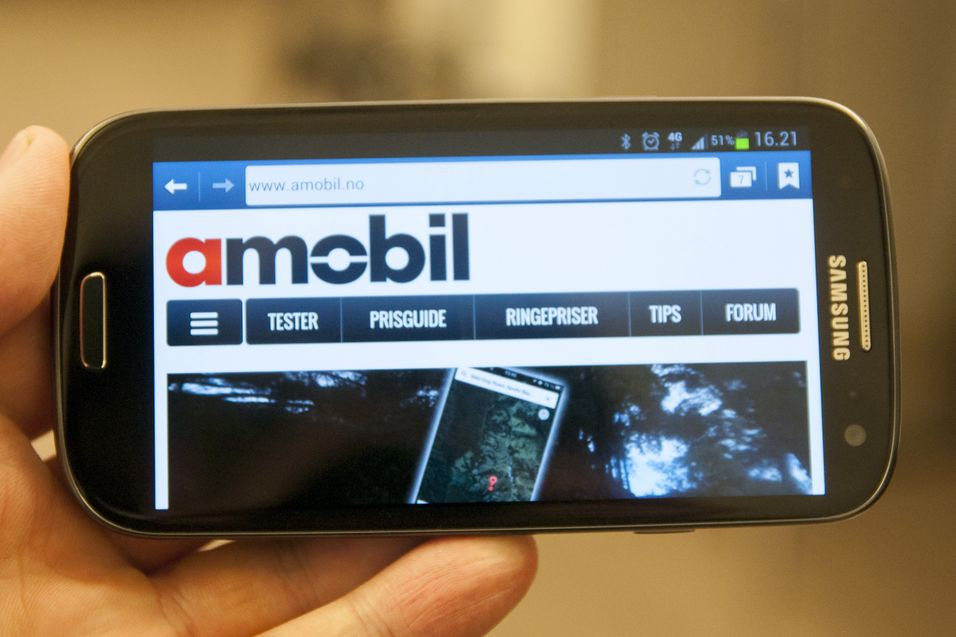 TEST: Samsung Galaxy S III 4G